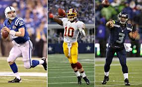 L-R: Luck, Griffin III & Wilson