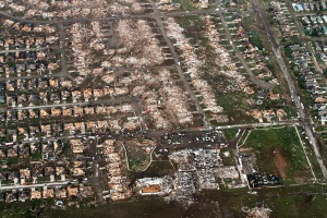 Moore after the tornado