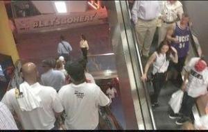 fans leaving early