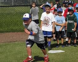 kids running the bases