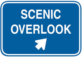 scenic overlook sign
