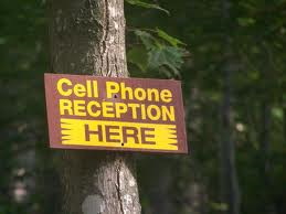 cell phone reception