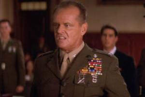 Nicholson as Col. Jessep