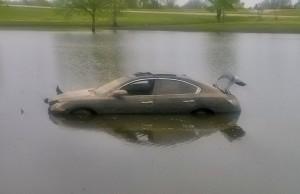submerged-car