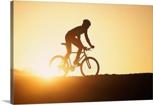 man-on-a-bicycle